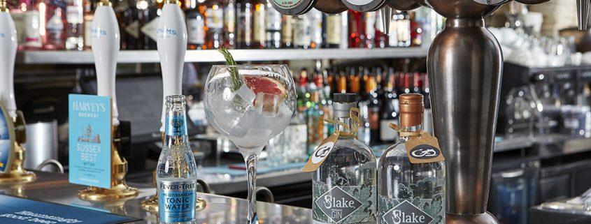 Gin Menu Shoreham - Tap House