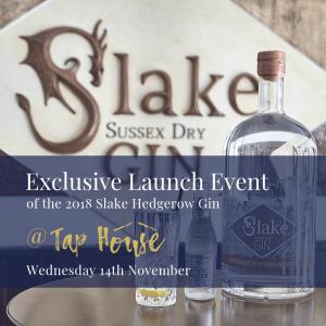 Slake Gin - Tap House Shoreham